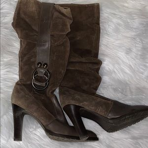 👢Jessica Simpson Brown Suede Boots👢